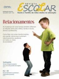 Capa Revista Escolar - julho 2012