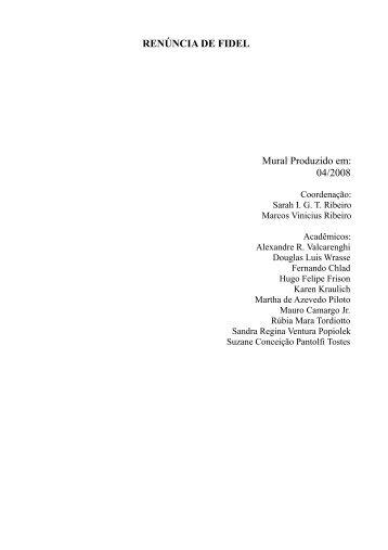 Artigos - Projeto HAM - História e Análise Midiática