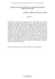 LEITURA NA EDUCAÇÃO DE JOVENS E ADULTOS EM ... - 2