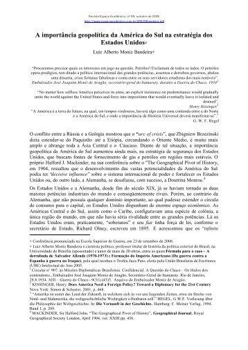 versão para imprimir (arquivo em pdf) - Revista Espaço Acadêmico