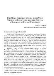 UMA NOVA HERESIA À MEDIDA DE UM NOVO MUNDO: A ...