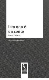 Denis Diderot Isto non é un conto - Asociación de Tradutores Galegos