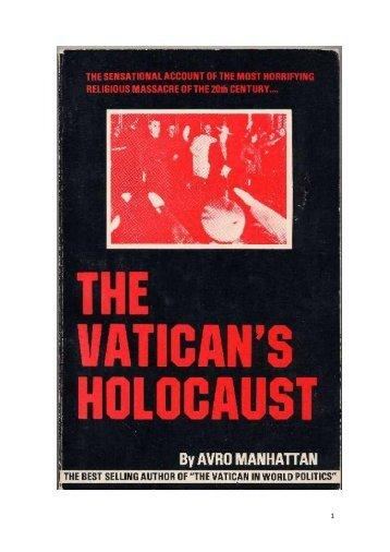 A participação da Igreja Católica no Holocausto