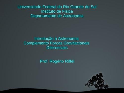 Aula 6 - Instituto de Física - Ufrgs