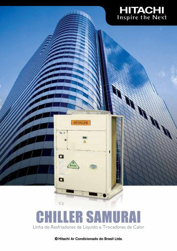 CHILLER SAMURAI - Hitachi Ar Condicionado do Brasil