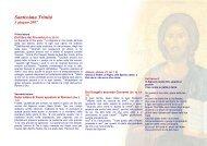 Santissima Trinità - Diocesi di Parma