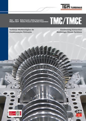 Condensing/Extraction Multistage Steam Turbines Turbinas ... - TGM