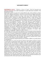 Curriculum - Associazione Nazionale Amici della Scuola di Artiglieria