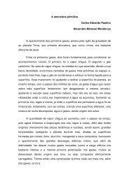 A atmosfera primitiva Carlos Eduardo Paulino Alexandre ... - Uniesp
