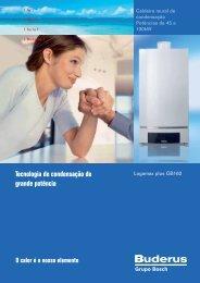 Tecnologia de condensação de grande potência - Buderus
