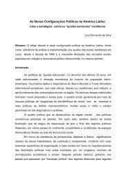 visões e desafios na américa latina - America Latina e Marx ...