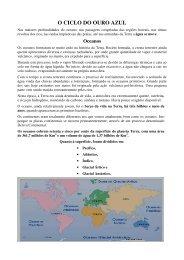 Artigo 322 - O Ciclo do Ouro Azul - Outorga