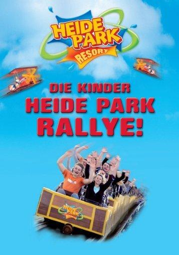 Kinder Heide Park Rallye