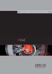 Datenblatt XVac PFADE.indd - XERION ADVANCED HEATING ...