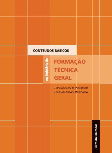PNQ conteudos gerais - Livro do EDUCADOR - Marca do Governo ...