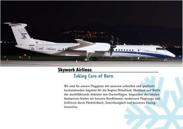 Skywork Airlines Taking Care of Bern