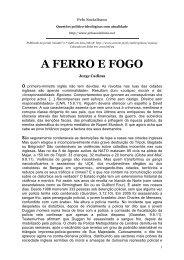 A FERRO E FOGO - Aaweb.org
