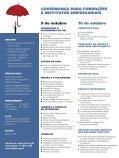 GOVERNANÇA PARA FUNDAÇÕES E INSTITUTOS EMPRESARIAIS - Page 2