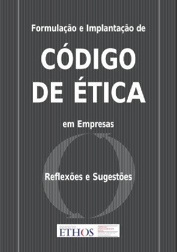 Cód, de Ética-W3 Wald1 - Instituto Ethos