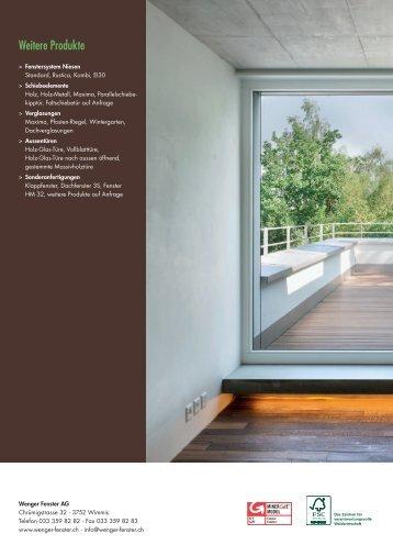 Prospekt_Eigerfenster_DE - Wenger Fenster