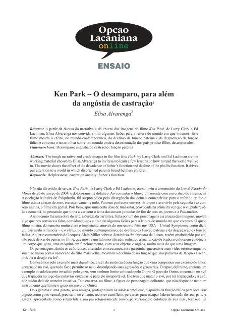 Park online ken *lcO(HD