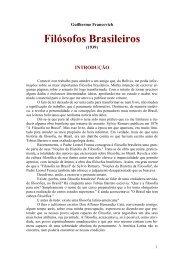 Filósofos Brasileiros - Curso Independente de Filosofia