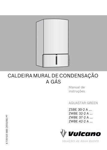 8 paragem prolongada da for Caldera mural a gas