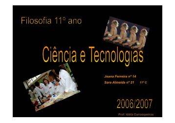 Ciência e Tecnologias