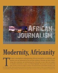 Modernity, Africanity - Rhodes Journalism Review