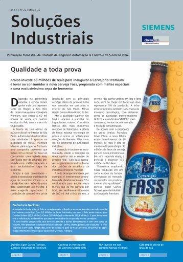 Soluções Industriais - Siemens Brasil