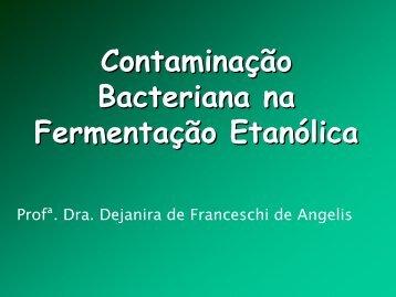 Contaminação bacteriana na fermentação etanólica - CCA