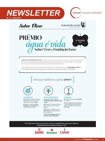 NEWSLETTER - Sociedade Água de Luso