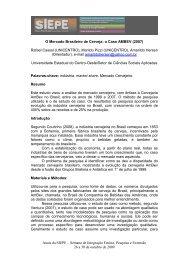 título do resumo - Anais de Eventos da Unicentro - Universidade ...
