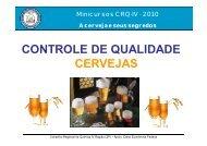 controle de qualidade cervejas - Conselho Regional de Química - IV ...