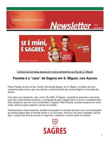 """Pauleta é a """"cara"""" da Sagres em S. Miguel, nos Açores - Sociedade ..."""