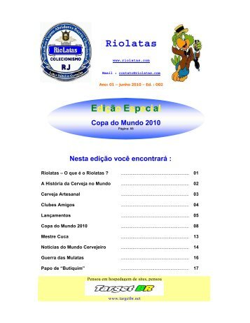 Cerveja Artesanal - RioLatas