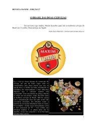 O BRASIL DAS BOAS CERVEJAS - Mec Bier Microcervejarias