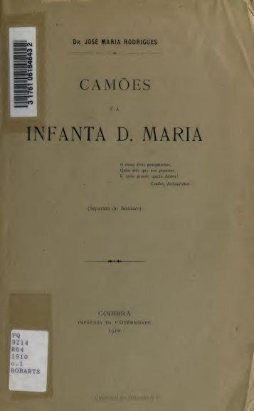 Camões e a infanta D. Maria