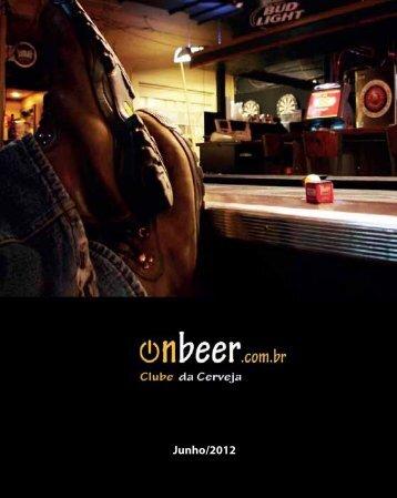 Revista Digital de junho - OnBeer - Onbeer.com.br