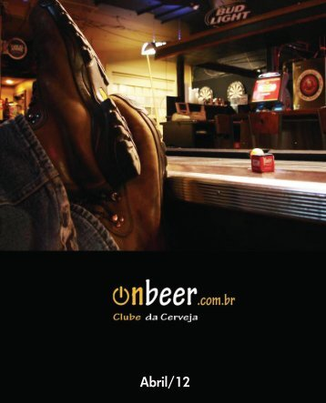 REVISTA DIGITAL de Abril - OnBeer - Onbeer.com.br