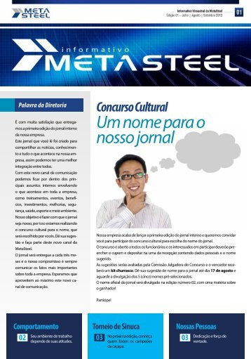informativo 01 - META STEEL