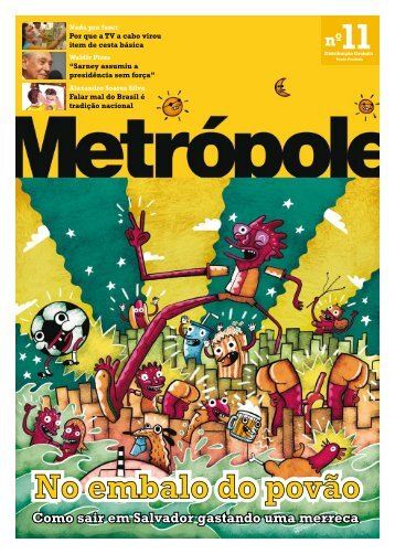 No embalo do povão - Revista Metrópole