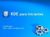 KDE para Iniciantes