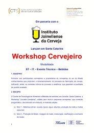 Workshop Cervejeiro - ACervA Catarinense