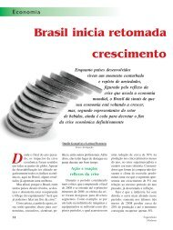 Brasil inicia retomada crescimento - Engarrafador Moderno