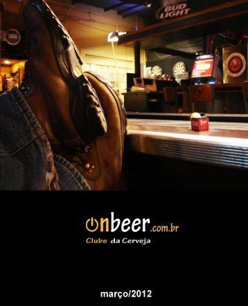 Revista Digital de março - OnBeer - Onbeer.com.br