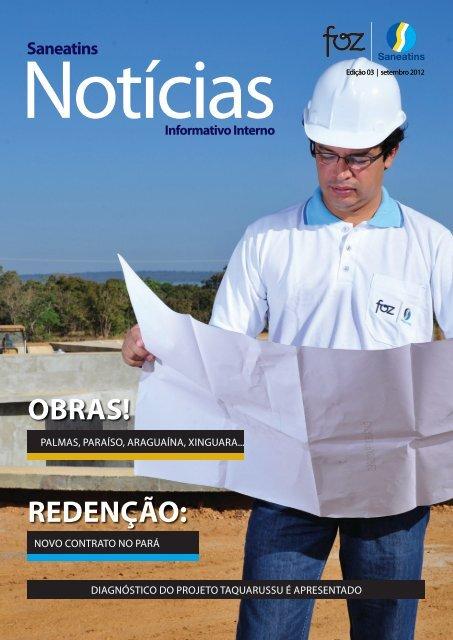 Edição 3, Setembro/2012 - Saneatins Notícias