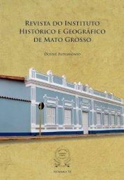 Revista 70 - Instituto Histórico e Geográfico de Mato Grosso