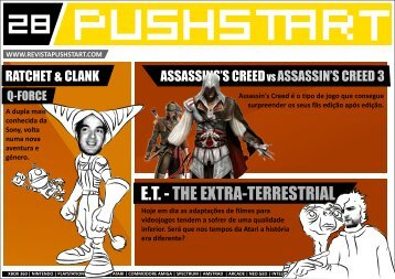 PUSHSTART N28 - Revista Digital de Videojogos Pushstart