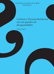 Cultura e Desenvolvimento em um quadro de desigualdades